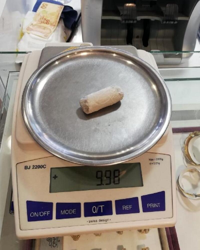 Dinar'da uyuşturucu baskını