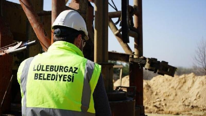 Lüleburgaz'da 2'nci su kuyusu açıldı