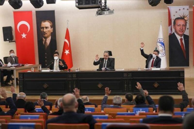 Talas Belediyesi Meclisi'nde, 18 madde karara bağlandı