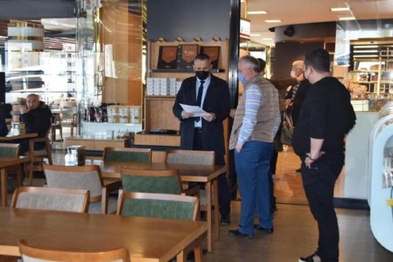 Süleymanpaşa'da yeni açılan işyerlerine koronavirüs bilgilendirmesi