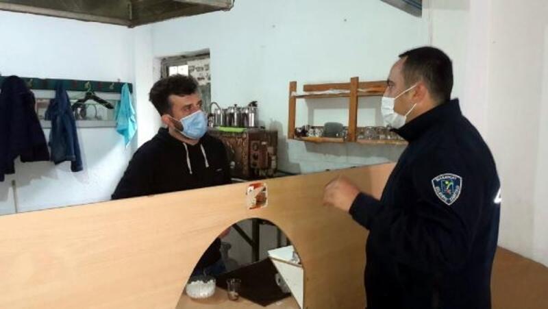 Manavgat'ta belediye ekiplerinden denetim