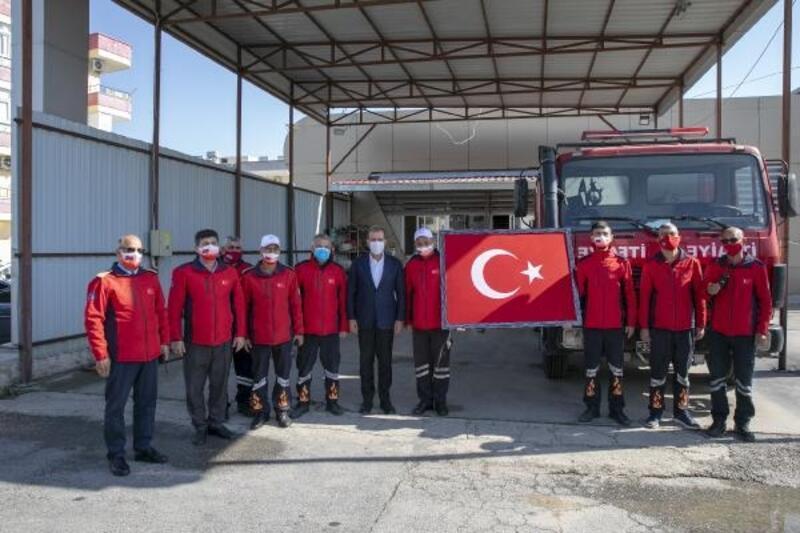 Başkan Seçer, Tarsus Atıksu Arıtma Tesisi'ndeki çalışmaları inceledi