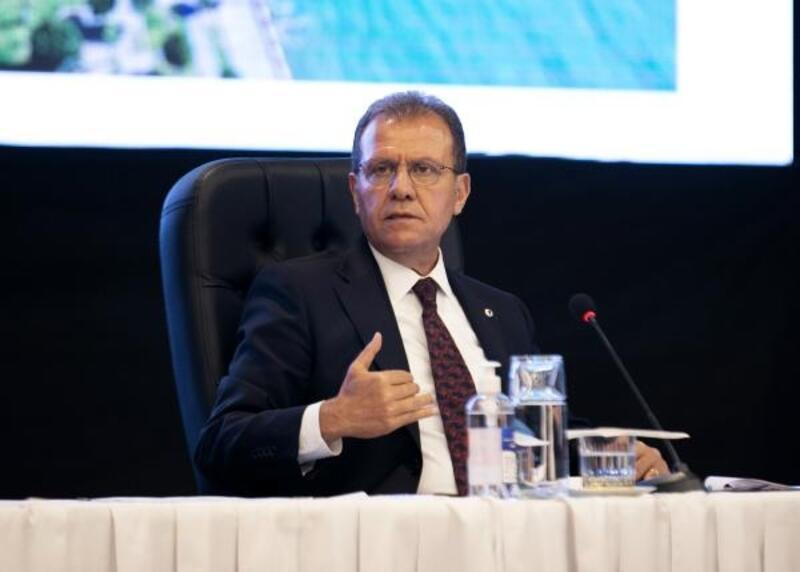 Mersin'de tabela kirliliği ve kaldırım işgaline izin verilmeyecek