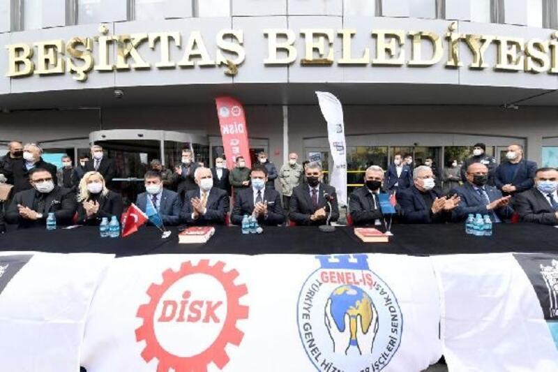 Beşiktaş Belediyesi ile Genel İş Sendikası arasında toplu iş sözleşmesi imzalandı