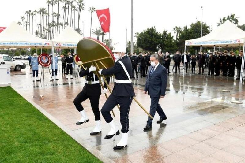Atatürk'ün Mersin'e gelişi törenle kutlandı
