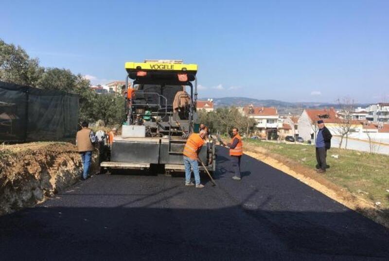 Yunuseli Mahallesi'nde asfalt çalışması
