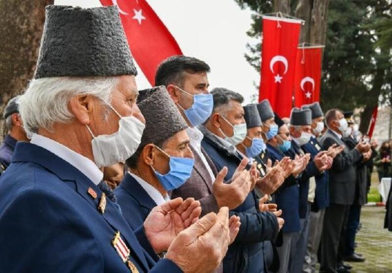 Mustafakemalpaşa'da Çanakkale Zaferi'nin 106. yılı kutlandı