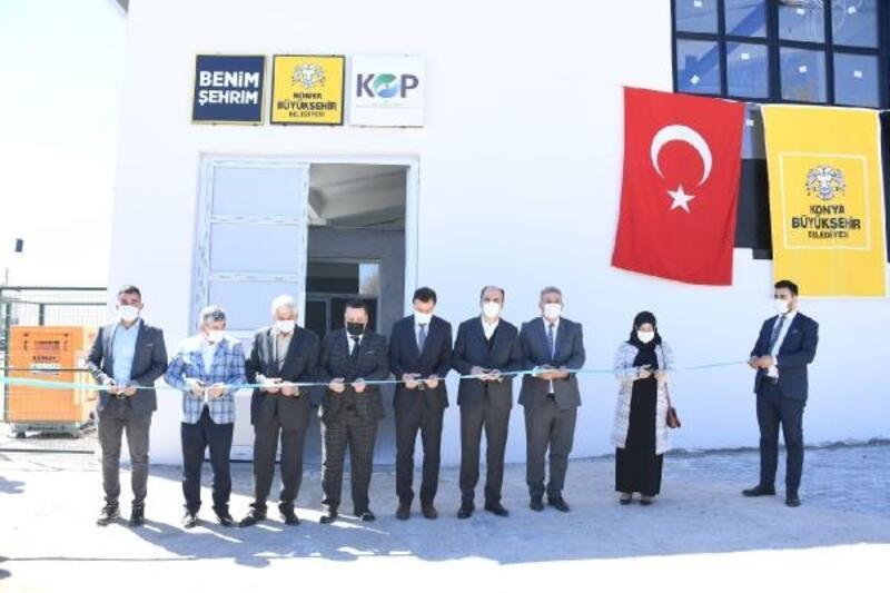 Güneysınır'a lavanta yağı damıtma tesisi açıldı