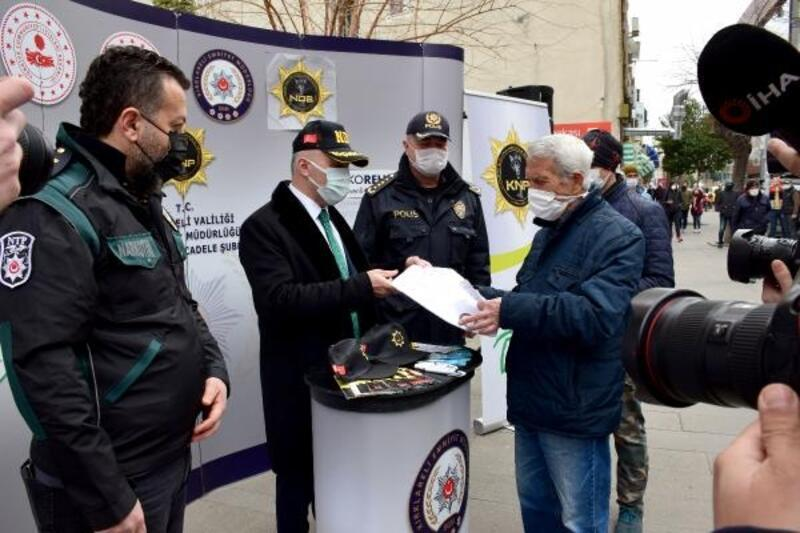 Kırklareli'nde, 'En İyi Narkotik Polisi; Anne' projesi tanıtılı