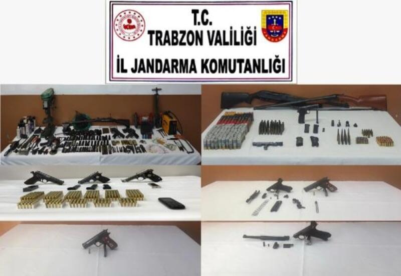 Trabzon'da 'silah kaçakçılığı' operasyonu: 2 tutuklama