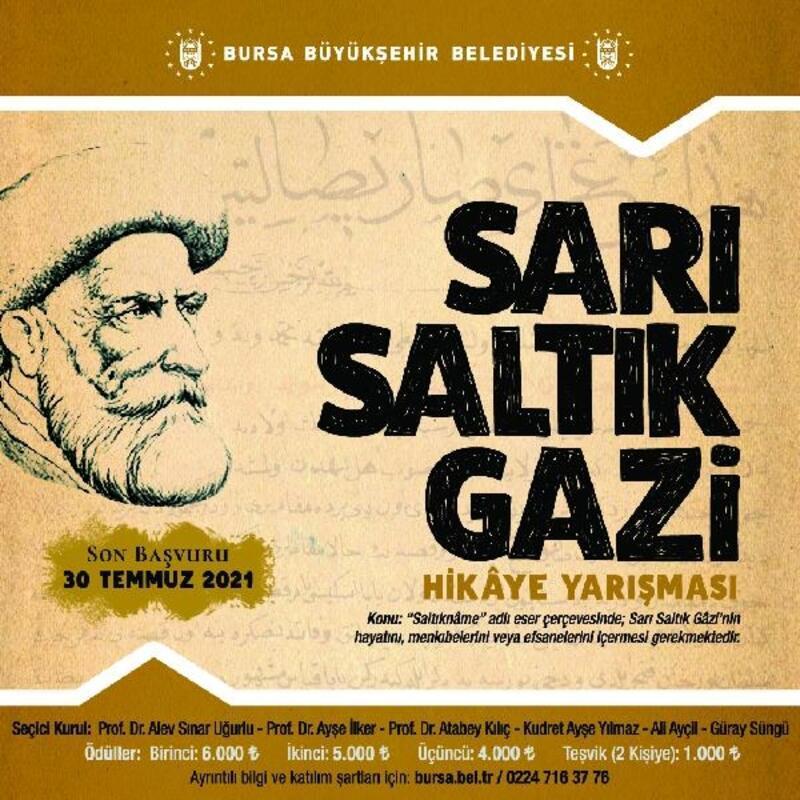 Bursa Büyükşehir Belediyesi'nden ödüllü hikaye yarışması