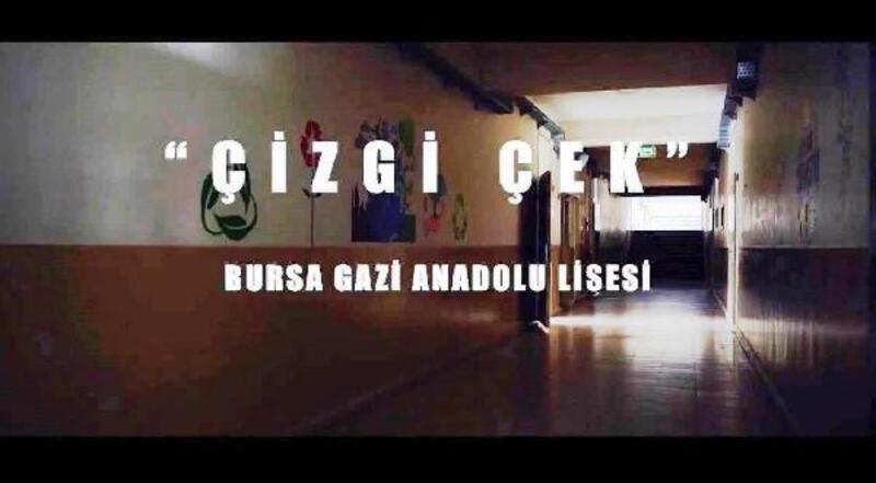 Kısa film yarışmasında Bursa'ya 'Çizgi Çek' ile üçüncülük ödülü