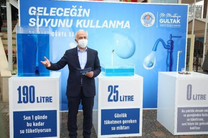 Başkan Gültak: Suyumuza sahip çıkalım, su israfından kaçınalım