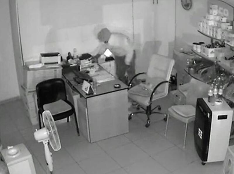 Hırsızlık şüphelisi yakalandı