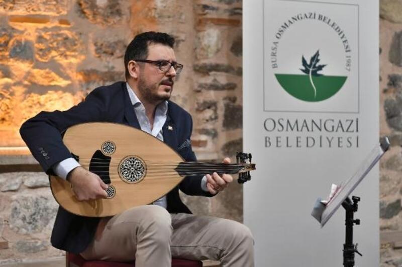 Osmangazi'de sanatseverlere 'ud' tanıtıldı