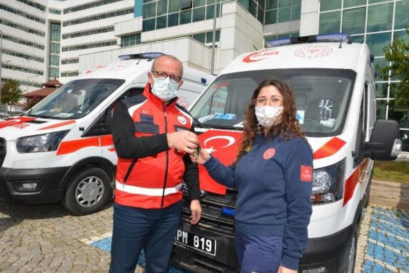 Antalya'ya 5 ambulans daha tahsis edildi