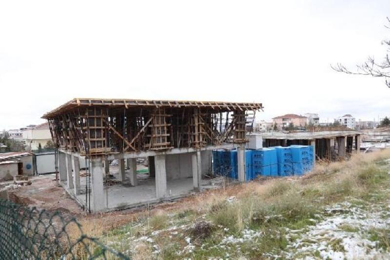 Aksaray'da sevgi evlerinin yapımı sürüyor