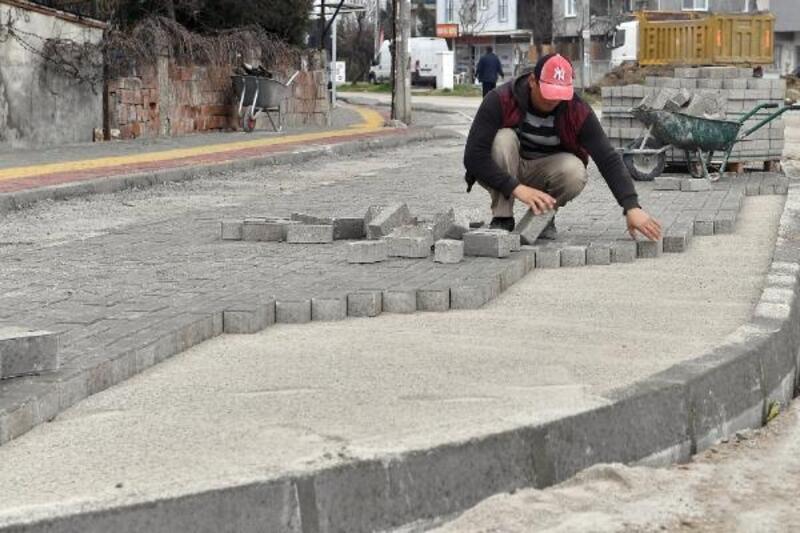 Panayır'da yollar yenileniyor