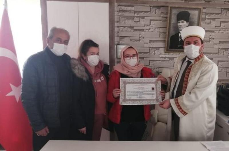 Ukraynalı Khristyna, Müslüman oldu