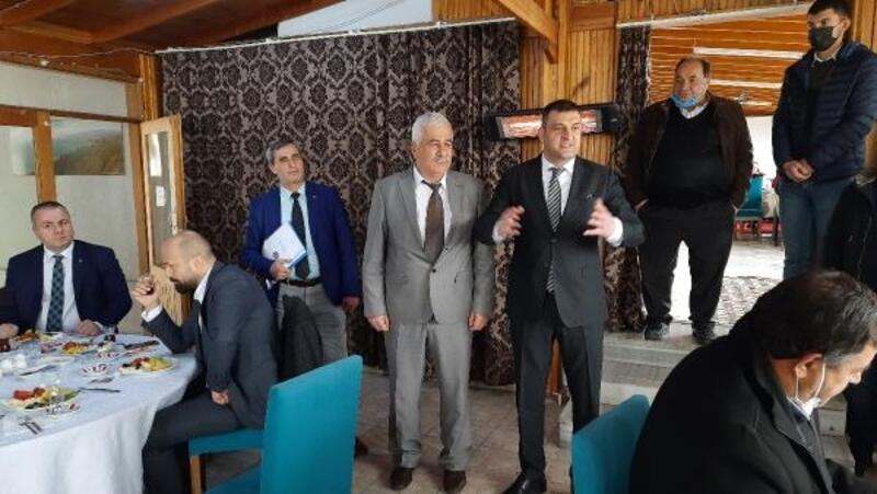 MHP İznik ilçe yönetimi, mahalle muhtarlarıyla bir araya geldi
