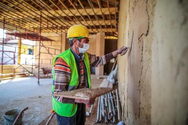 Denizli'de tarihi kahvehane restore ediliyor