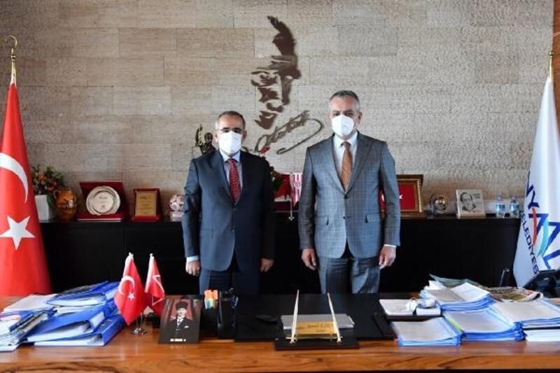TBMM Başkanvekili Akar'dan Esen'e ziyaret