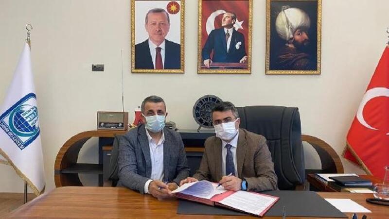 Yıldırım Belediye Başkanı Yılmaz ile Yıldırım İlçe Tapu Müdürü Gezmiş'ten işbirliği protokolü