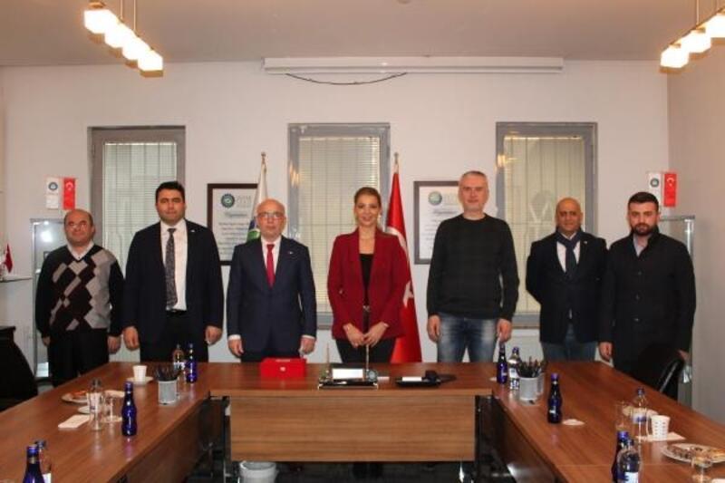 Türk Kızılay Bursa Şubesi, DOSABSİAD'ı ziyaret etti