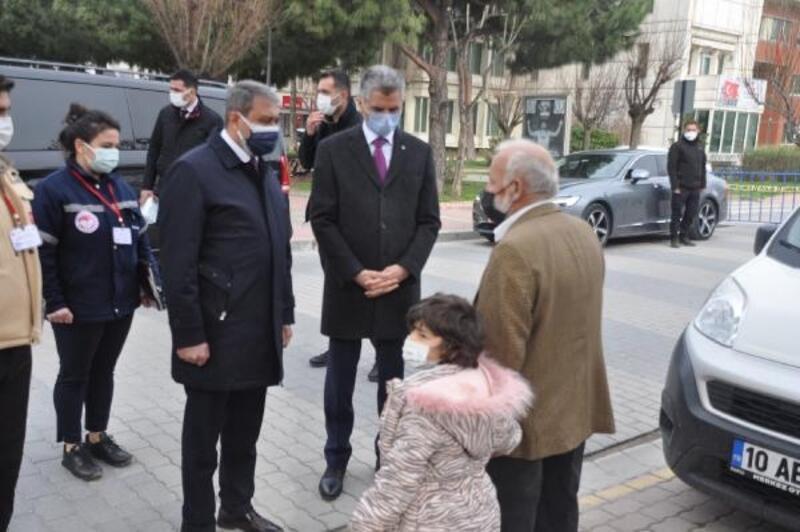 Balıkesir Valisi Şıldak, Gönen'de ziyaretlerde bulundu
