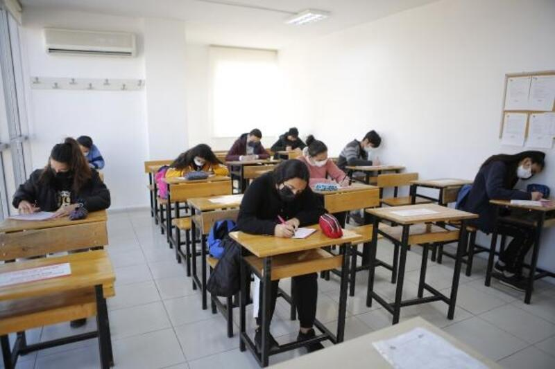 ATABEM'de LGS için deneme sınavı yapıldı
