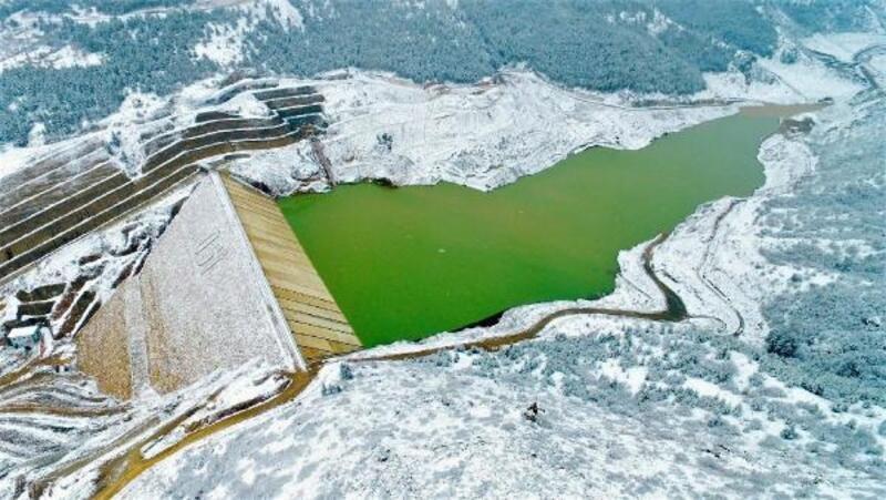 Yağışlar Çay Barajı'nı dolduruyor