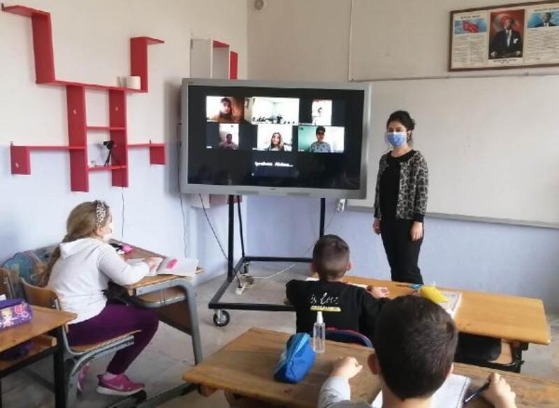 Gelendost'ta hibrit eğitim