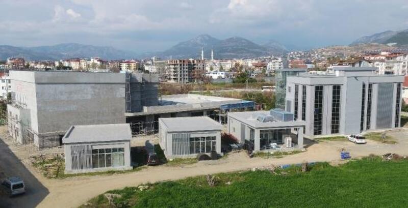 Gazipaşa Kültür Merkezi gün sayıyor