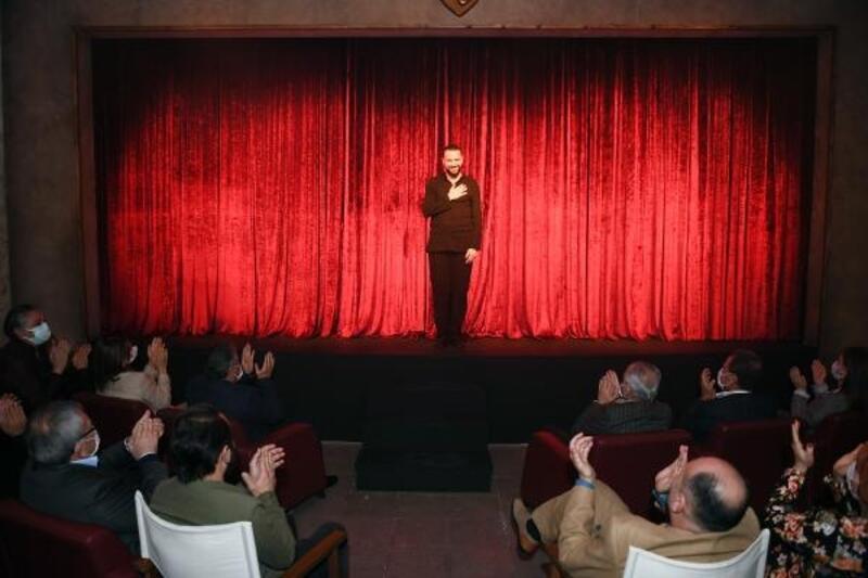 Büyükşehir Şehir Tiyatrosu'ndan, Dünya Tiyatro Günü'nde özel oyun