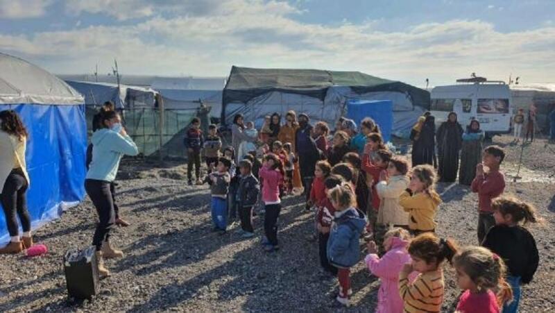 Mersin'de çocuklar için 'Bir tutam mutluluk' projesi