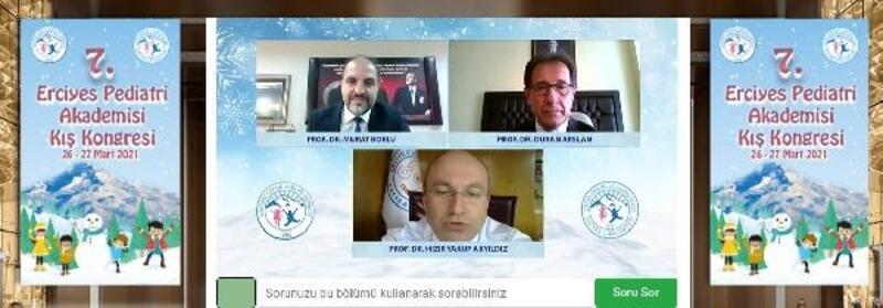 ERÜ'de '7'nciErciyes Pediatri Kış Kongresi'düzenlendi