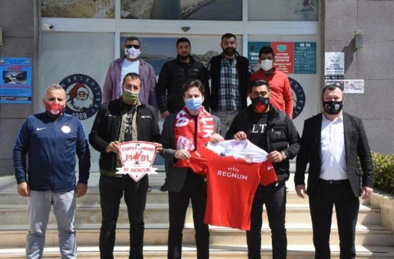 Antalyaspor Taraftar Derneği'nden Başkan Kocakaya'ya ziyaret