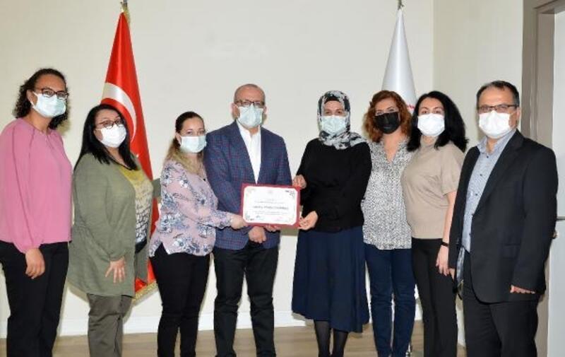 Antalya İl Sağlık'a birincilik ödülü