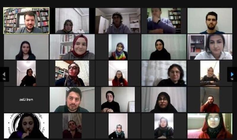 Ortahisar Gençlik Birimi'nin 'online' etkinliklerine ilgi