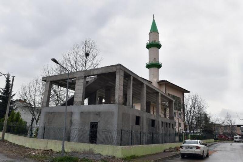 Yunuseli TOKİ Camii'nde hizmet binası çalışmaları sürüyor