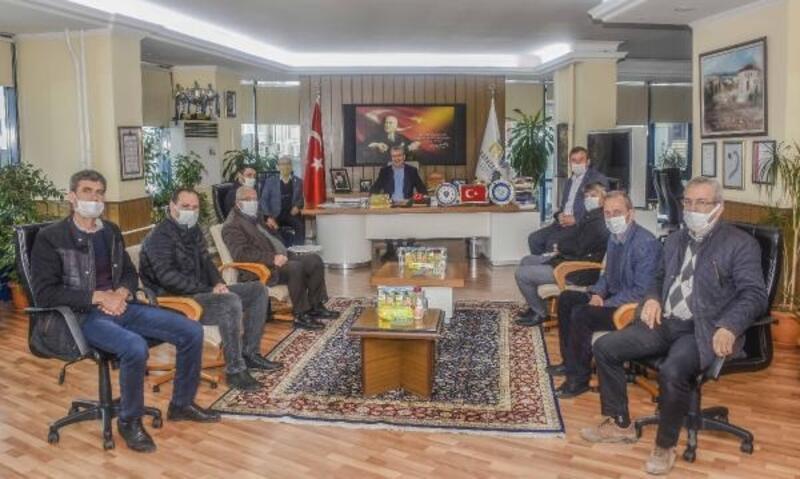 Karacabey Muhtarlar Derneği'nden Başkan Özkan'a ziyaret
