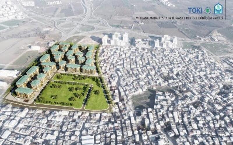 Yıldırım'da 7. Etap Kentsel Dönüşüm Projesi için yıkımlar başlıyor