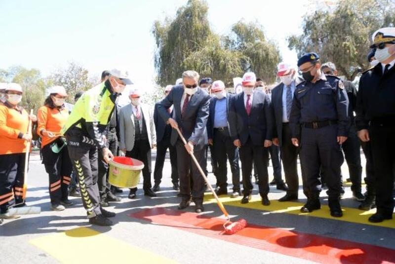 Mersin'de 'kırmızı çizgi' uygulaması başladı