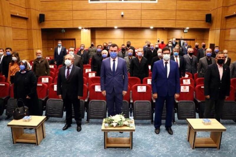 Tekirdağ'da muhtarlara aile içi şiddetle mücadele bilgilendirmesi