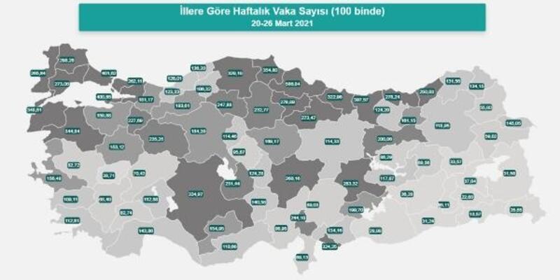 Antalya'da vaka sayısında korkutan yükseliş
