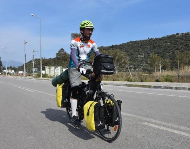Bisiklet üstünde Likya gezisi