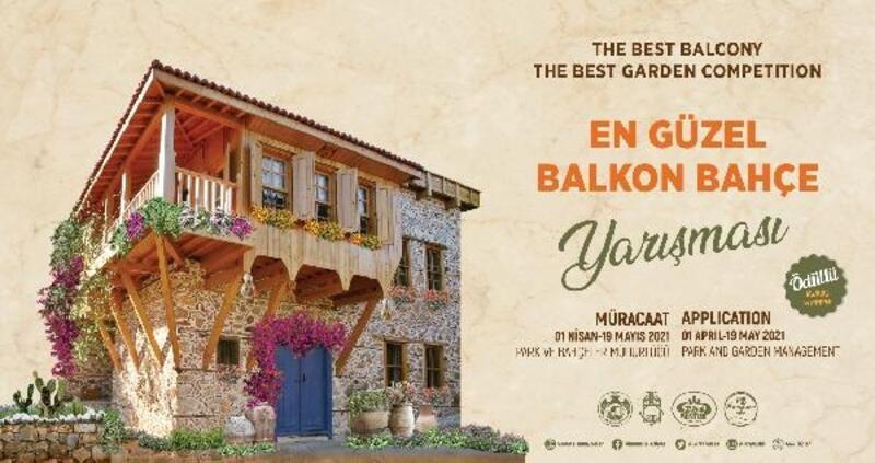 Alanya Belediyesi en güzel balkon bahçeyi seçiyor