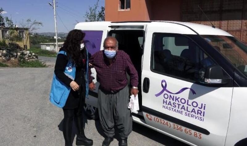Kanser hastaları Onko-Büs'le hastaneye ücretsiz taşınıyor