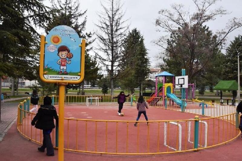 Kocasinan Belediyesinden çocuklara özel park