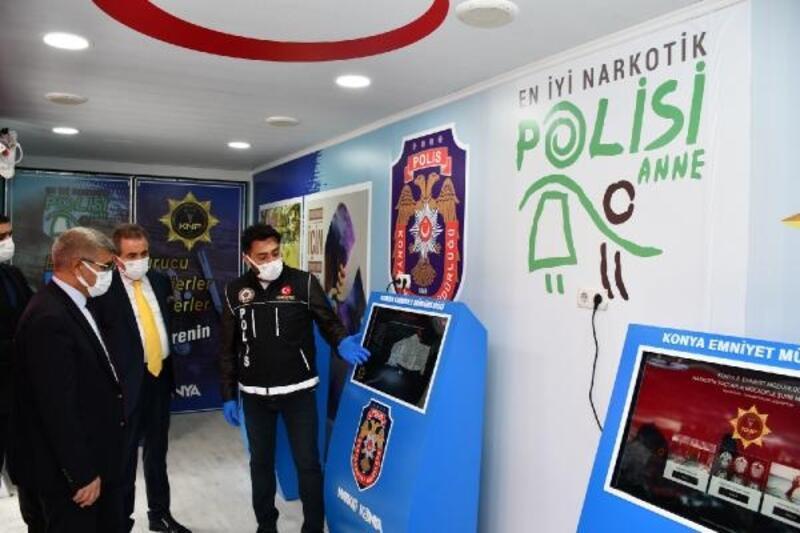 Karabük'te 'En İyi Narkotik Polisi: Anne' projesi tanıtıldı